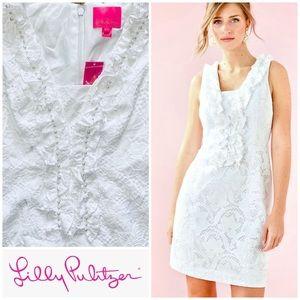 Lilly Pulitzer Kiera Shift Dress w Pearls NWT SZ 4